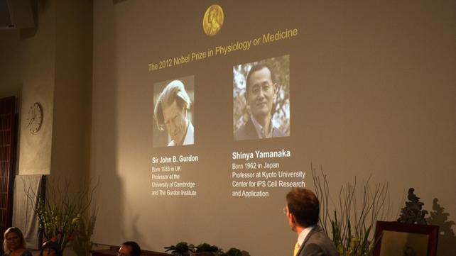 John Gurdon and Shinya Yamanaka will share a prize worth €930,000