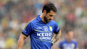 Paul Galvin was struck just before the second half