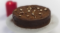 Chocolate and hazelnut cheesecake - A recipe for a special romantic occasion perhaps?