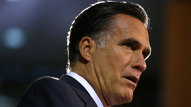 Mitt Romney's aim was to portray himself as having the presidential stature needed for the world stage