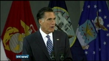 Romney sets out foreign policy objectives