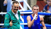 Billy Walsh tells Adrian Eames that he regrets losing a talent like John Joe Nevin but wishes him well in his professional career
