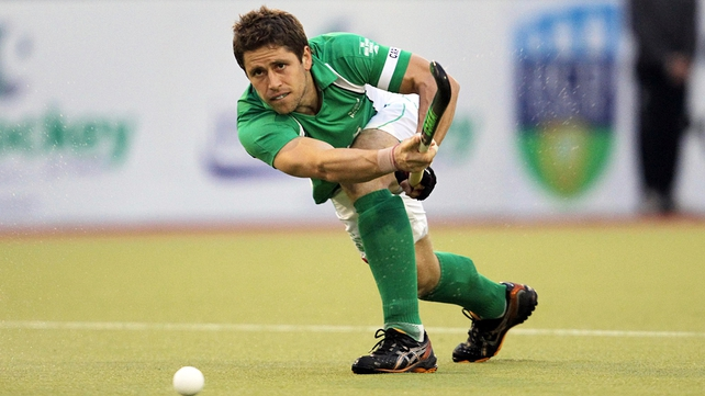 Ronan Gormley got Ireland's only goal in the tie
