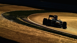 Sebastian Vettel of Germany and Red Bull Racing drives on his way to winning the Japanese Formula One Grand Prix