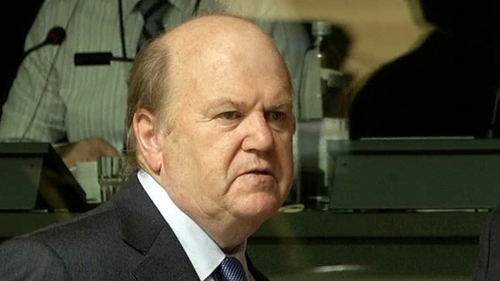 Michael Noonan has said he is unable to reduce historic salaries