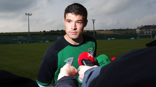 Darren O'Dea makes the move from Canada to Ukraine