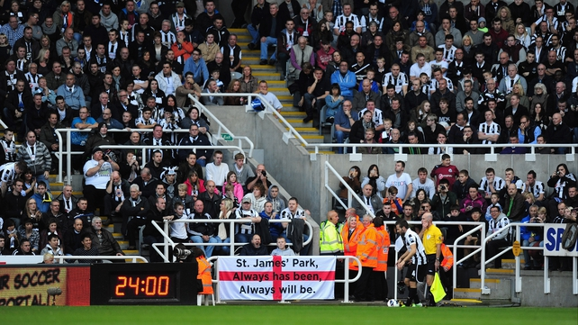 Newcastle fans will be delighted that St James' Park has reverted to its original name
