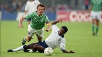 David Kelly investigates the origins of the green Germany away kit