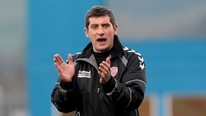 Derry City manager Declan Devine says his side are not phased by having to play at Tolka Park