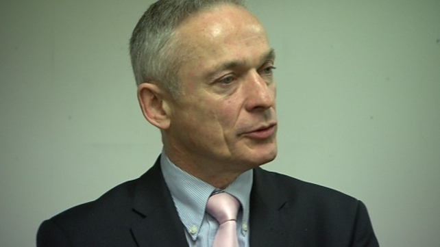 Richard Bruton said there were signs of progress in the jobs market