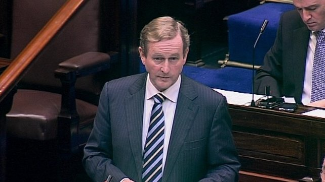Enda Kenny says it is time for courage and conviction