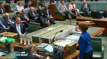 Australia's opposition leader gets dressing down over sexism from prime minister