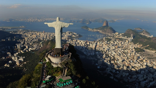 A city of two halves: Rio gears up for the Olympic Games