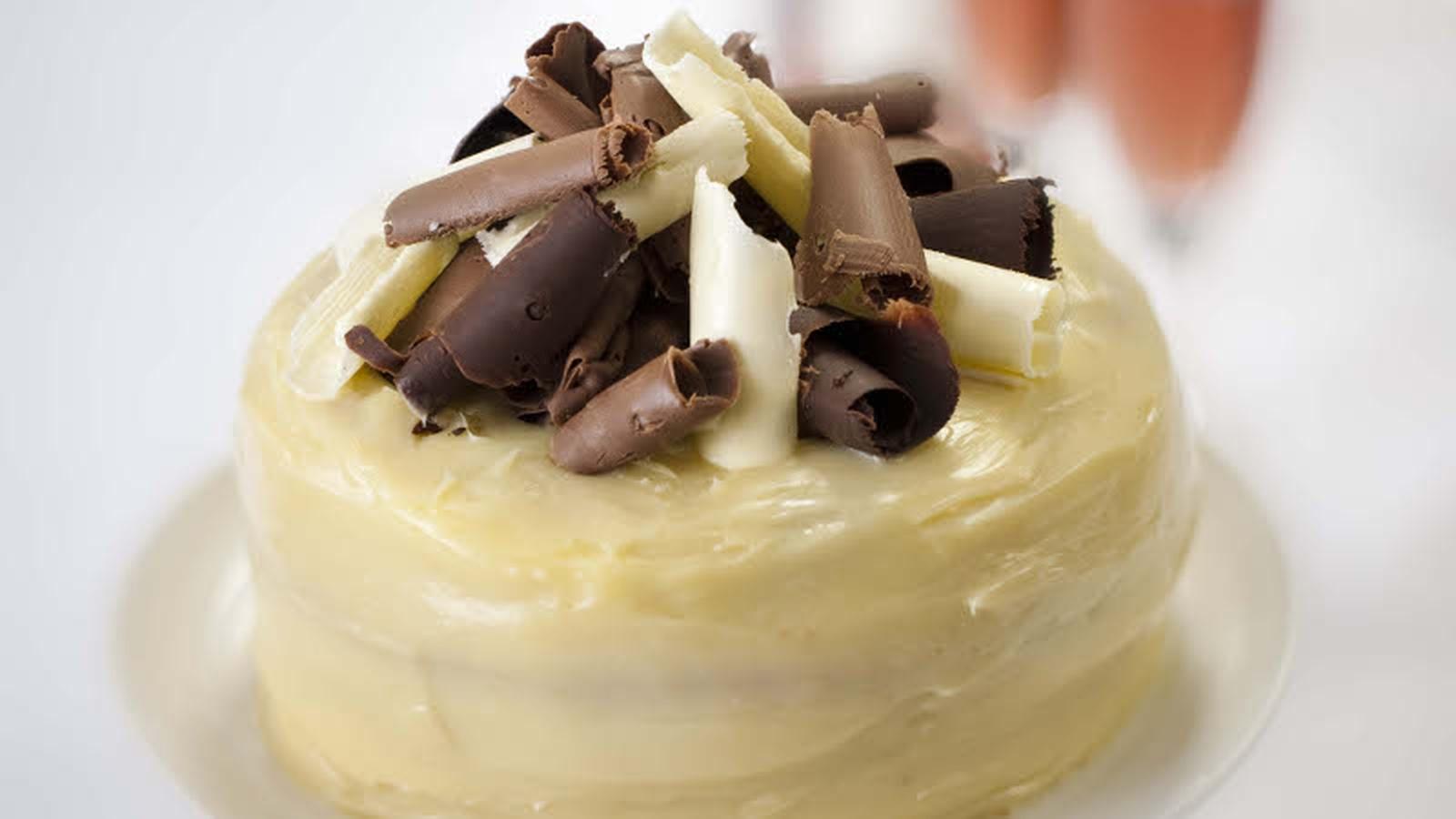 White Chocolate Anniversary Cake Rachel Allen