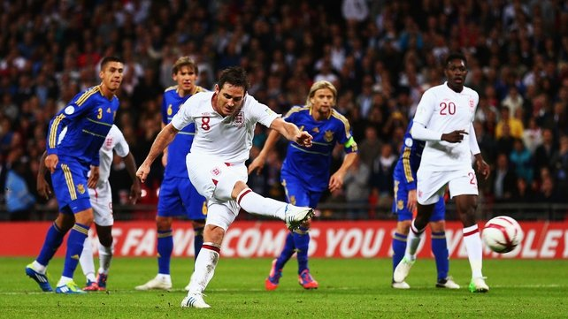 Lampard forced to sit out the clash with San Marino