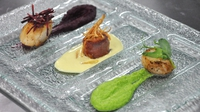 Scallops in 3 oceans - A tasty cook-off dish from MasterChef Ireland