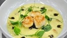 Panfried Scallops and Cauliflower Velouté