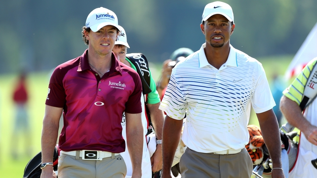 Woods was a comfortable winner over McIlroy