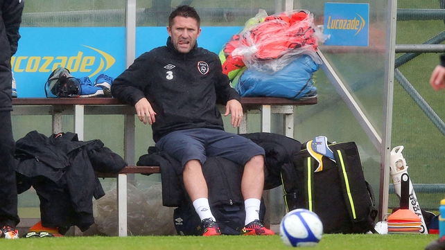 Robbie Keane will be back to face the Faroe Islands