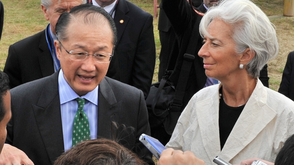 IMF and World Bank chiefs call for medium term work to bring down debt levels