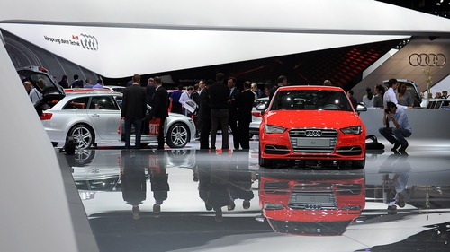 Audi is seeking to become the biggest luxury car maker ahead of BMW