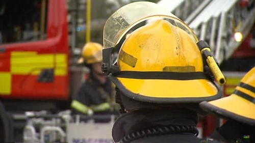Five units of Dublin Fire Brigade tackled the fire