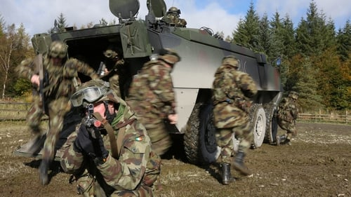 Defence Forces exercise involves 650 men and women
