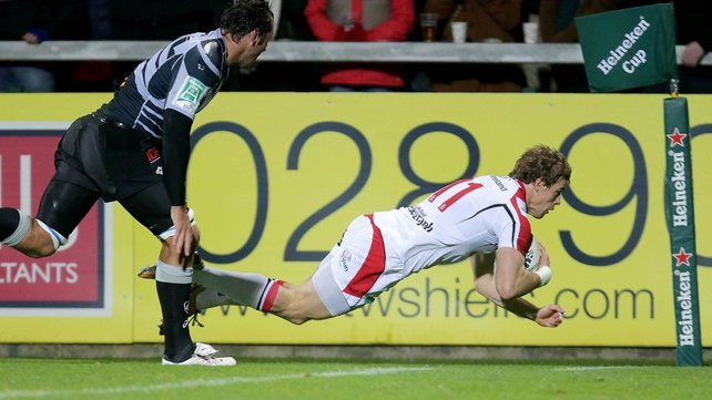 Andrew Trimble has scored 50 tries for Ulster and 11 for Ireland