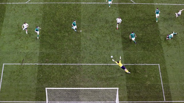 Germany thrashed Ireland 6-1 in the  reverse fixture last October