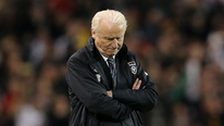 Giovanni Trapattoni gives his reaction to RTÉ's Tony O'Donoghue and the panel give their reaction
