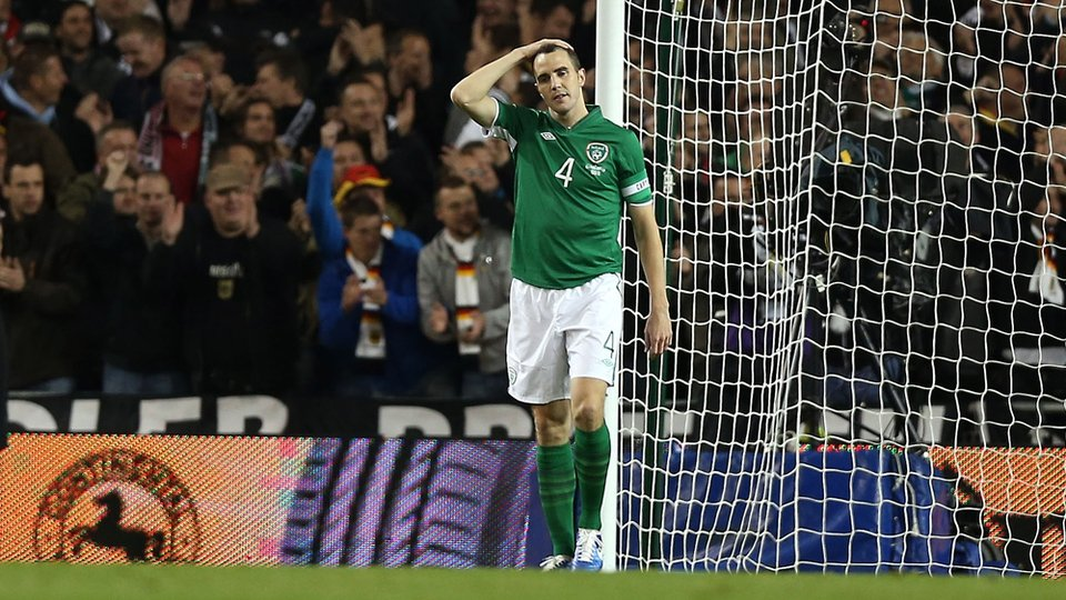 Captain for the evening John O'Shea won't have many tougher evenings