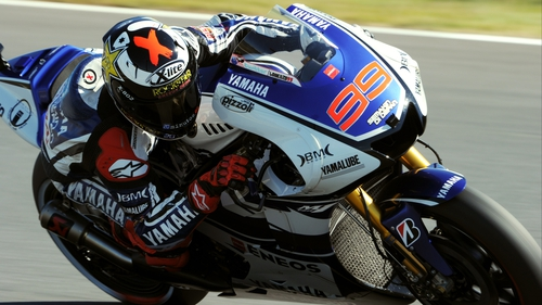 Jorge Lorenzo left it late to take pole in Japan