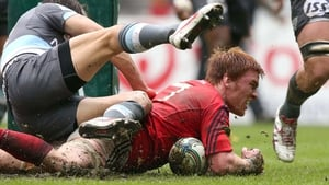 Sean Dougall touched down for Munster