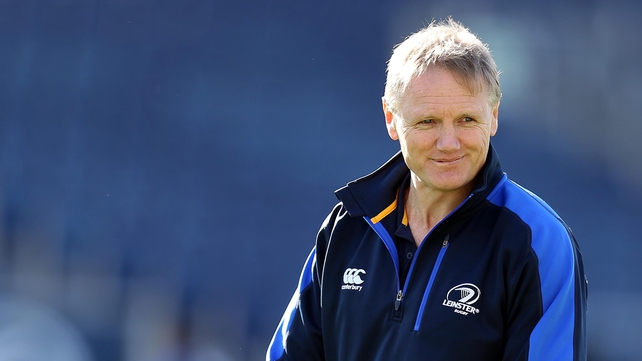 Joe Schmidt's Leinster hosted Exeter Chiefs at the RDS