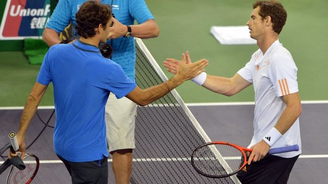 Andy Murray is one of the few players in the game who can boast a winning head-to-head record against Roger Federer