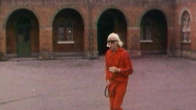 Savile at Broadmoor hospital where he abused at least five people