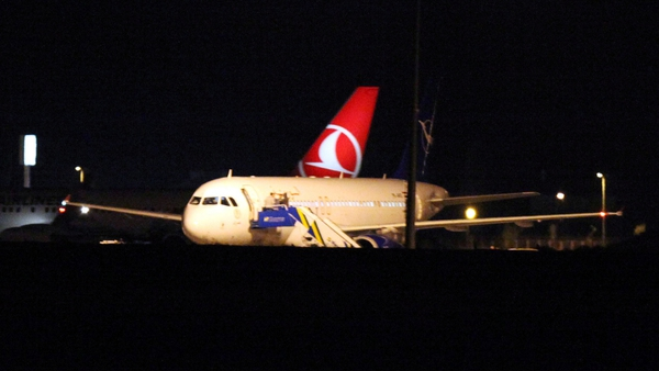 Turkey grounded a Syrian passenger plane which it claimed was carrying weapons