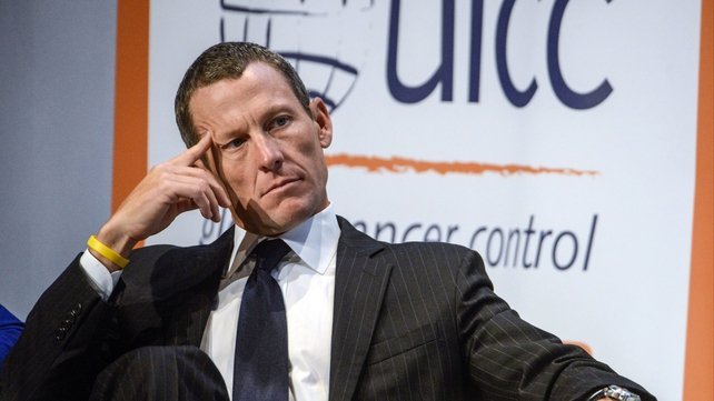 Lance Armstrong spoke out in response to the USADA report