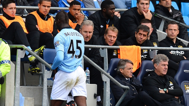 Mario Balotelli has had an eventful career at Manchester City
