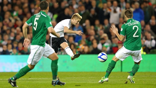 Marco Reus was one of the stars for Germany against Ireland on Friday