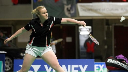 Sinead Chambers was the only Irish player to reach a singles final at Baldoyle