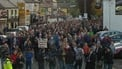 Richard Dowling reports on rally of support held for Quinn family