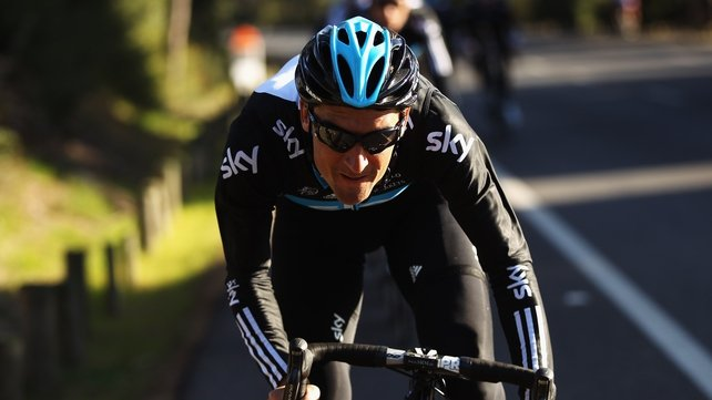 Michael Barry raced with Team Sky from 2010 to 2012