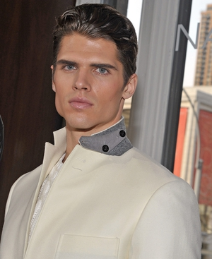 Male model Brian Shimansky is the face of the fragrance