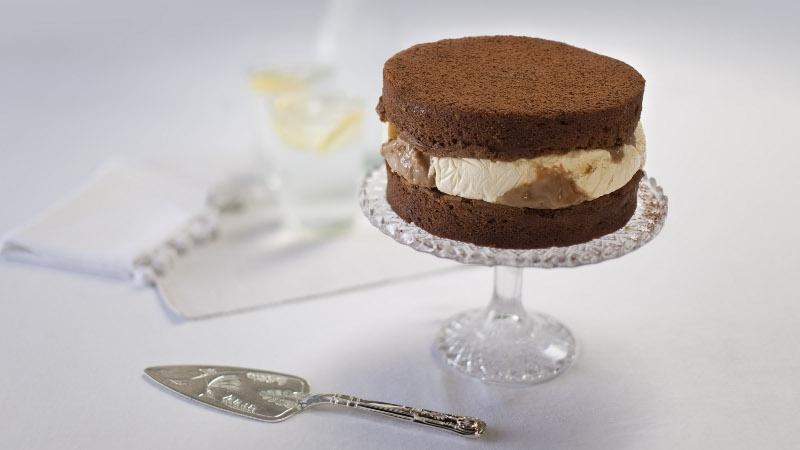 Chocolate Toffee Ice Cream Cake Rachel Allen