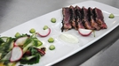 Tuna with wasabi, crème fraiche and pickled salad - From episode three of MasterChef Ireland 2012