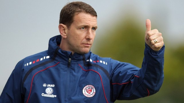 Ian Baraclough said that his time as Sligo boss had improved him as a manager