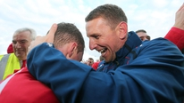 Ian Baraclough on his title win with Sligo Rovers