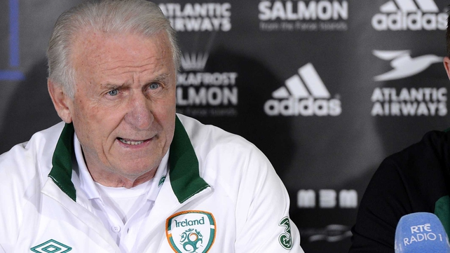 Giovanni Trapattoni insists he has is not entertaining any thoughts of leaving his post