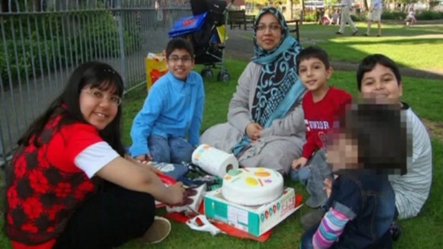 Dr Sabah Usmani and four of her children died in the blaze